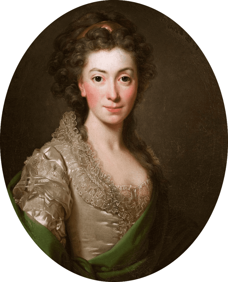 Portrait of Izabela Czartoryska née Fleming(1746-1835)