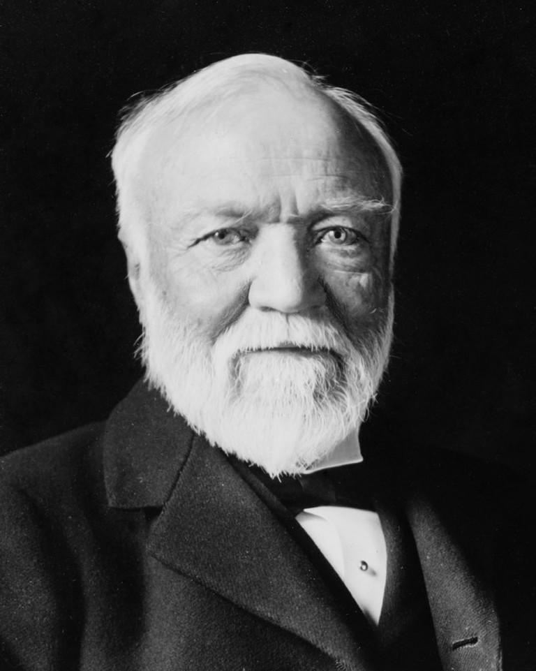 Andrew Carnegie. American Businessman and Philanthropist