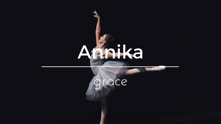 Annika South African name and its meaning