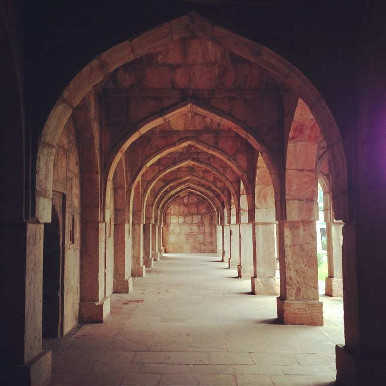Arches of Asharfi Mahal
