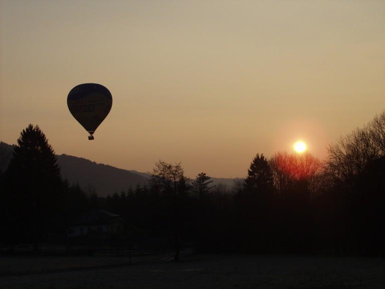 Ballooning in Alsace