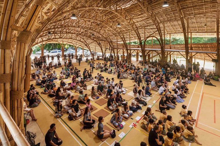 Bamboo Sports Hall at Panyaden International School