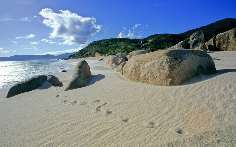 Yalong Bay in Sanya, the southernmost city in Hainan Island, is home to China's best beaches.