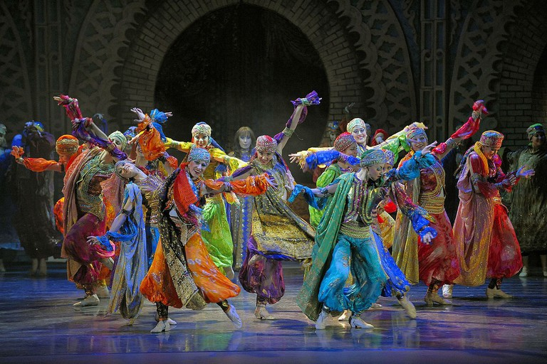 The Caracalla Dance theater, company behind the school
