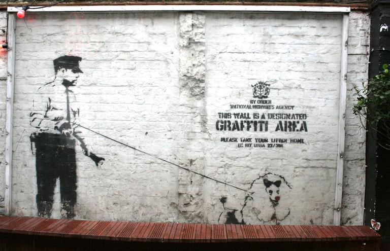 Cargo hosts two authentic Banksy artworks