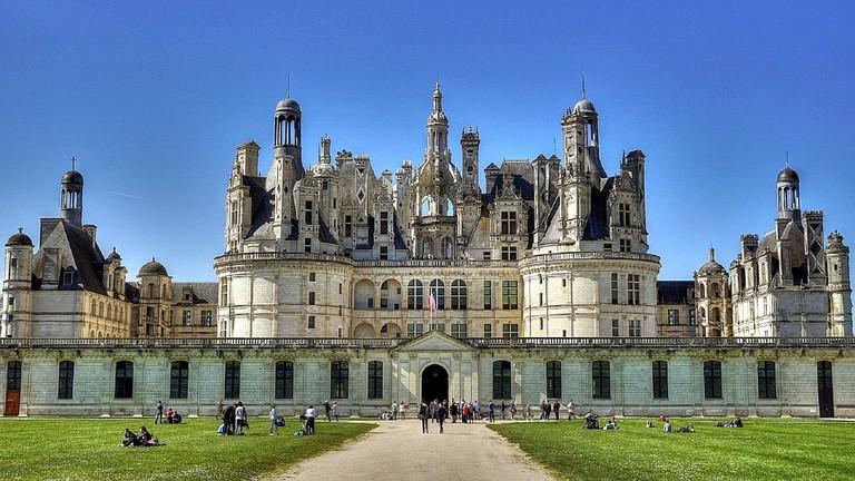 The Chambord castle CC0 Pixabay