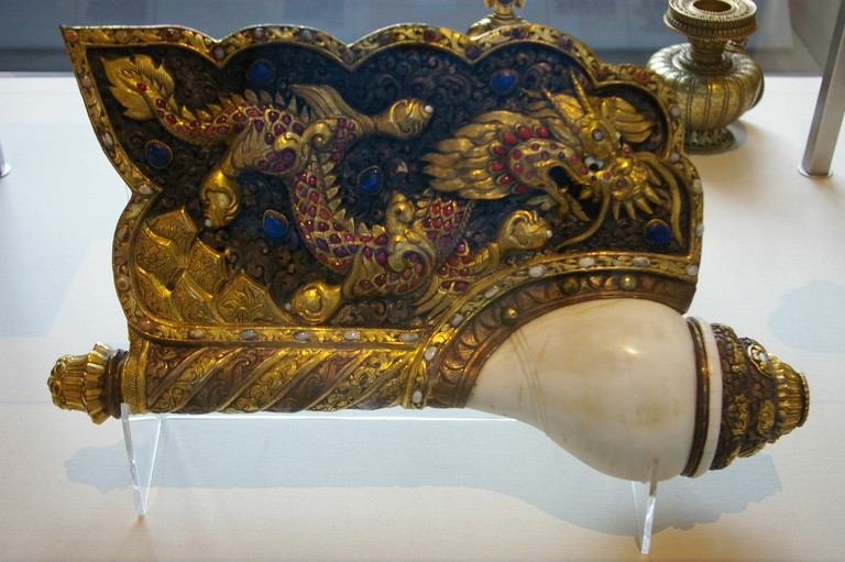 Chinese cultural relic currently on display at the British Museum in London