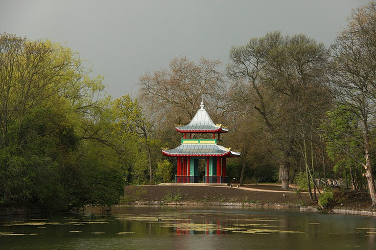 Chinese Pagoda in Victoria Park