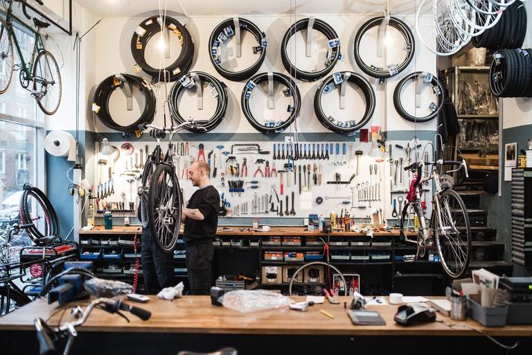 Inside Cykelkooperative