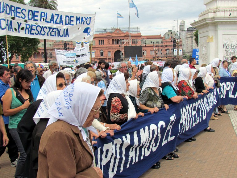 The Mothers and Grandmothers of the Plaza de Mayo, Buenos Aires