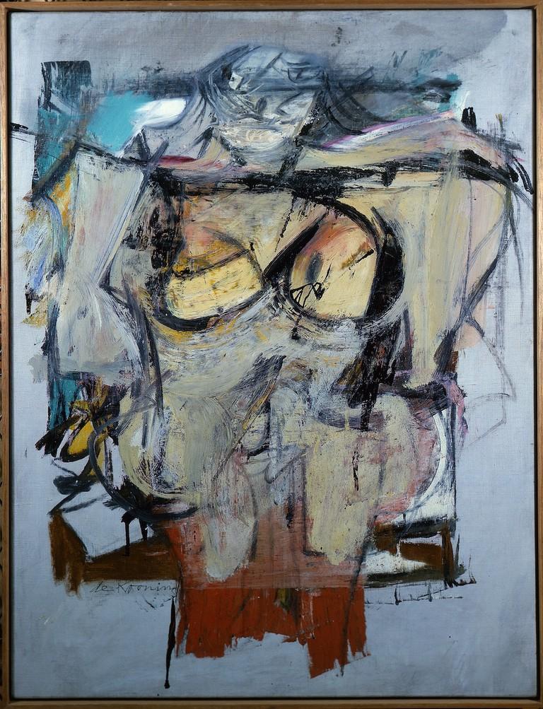 Willem de Kooning, Woman-Ochre (1955-1956) | Courtesy of the University of Arizona Museum of Art