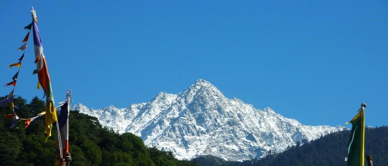 Dhauladhar peak from McLeod Ganj