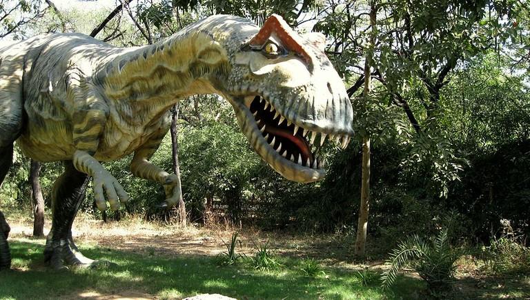 Dinosaur Model at Indroda Dinosaur and Fossil Park