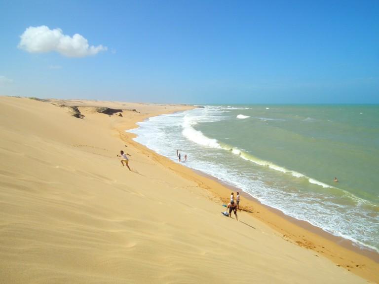 The giant dunes of La Guajira