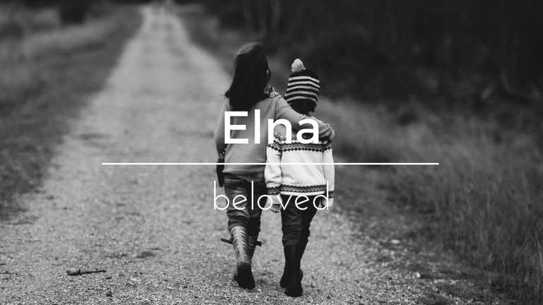 Elna South African name and its meaning