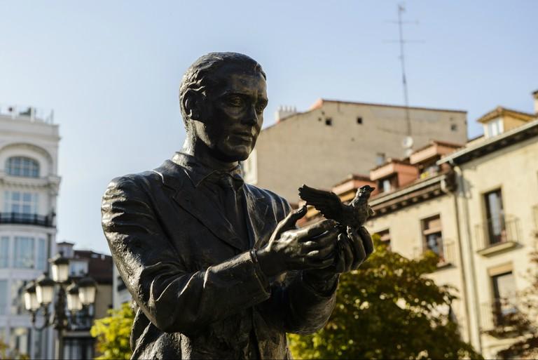Federico García Lorca statue