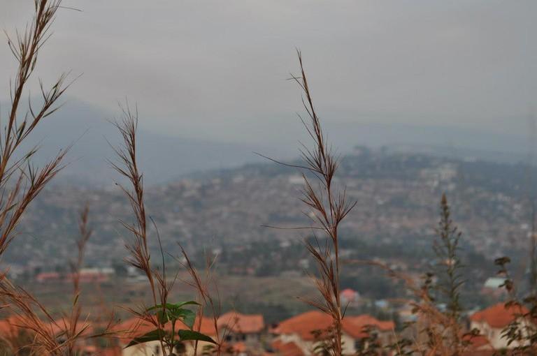 Views of Kigali at dusk