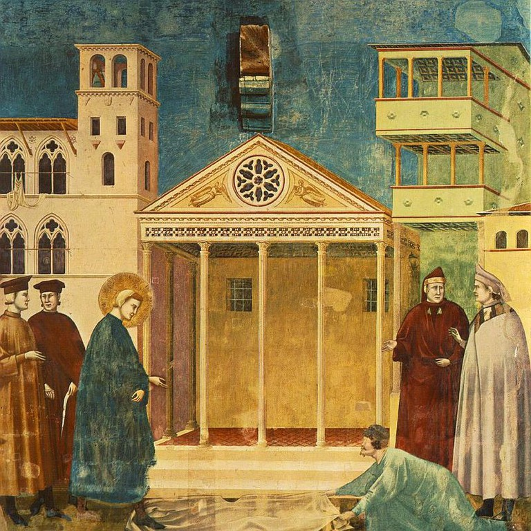 Giotto, Homage of a Simple Man