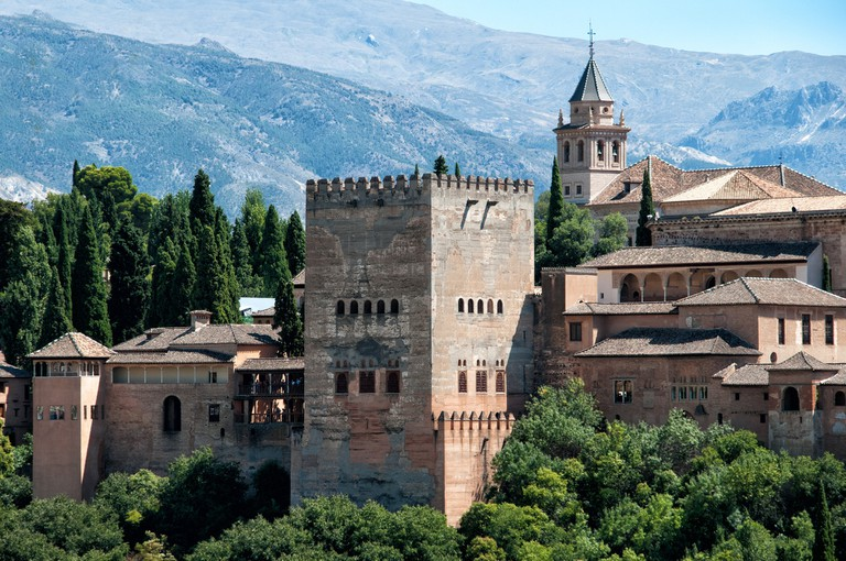The Alhambra, one of Andalusia's great literary landmarks