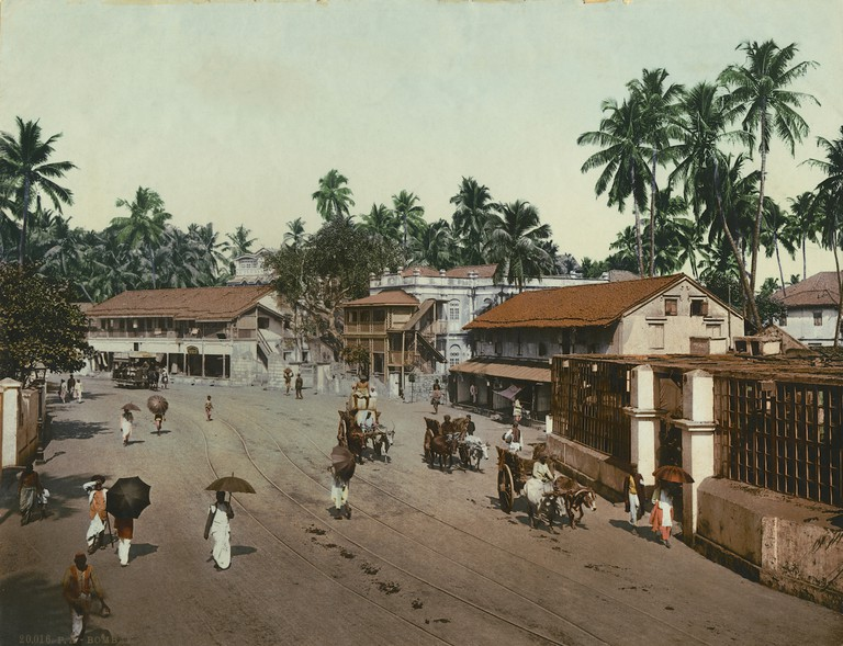 Photoglob Co., Girgaum Road, Bombay (Mumbai), c. 1890 – 1910
