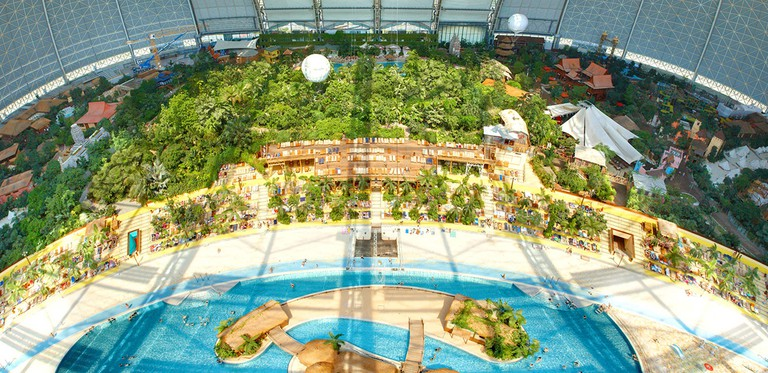 The Tropical Islands Resort that lies just outside of Berlin