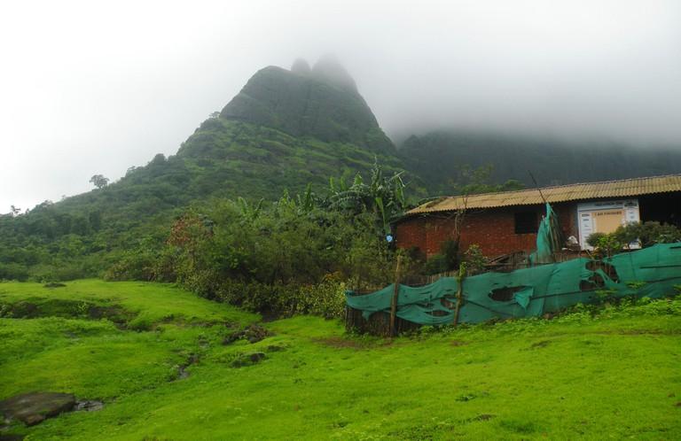 Kalavantin view from base village Thakurwadi
