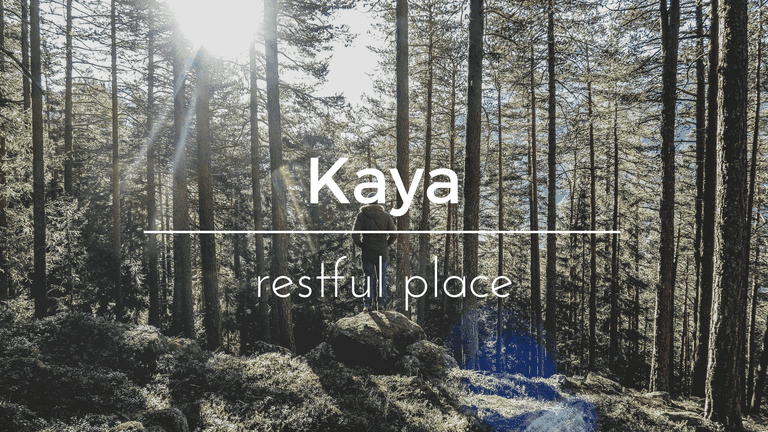 Kaya South African name and its meaning