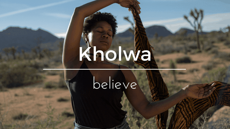 Kholwa South African name and its meaning