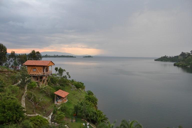 Kibuye on Lake Kivu