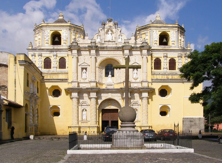 La Merced Church Antigua Guatemala