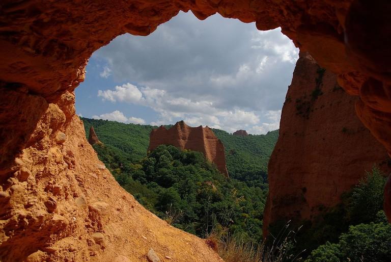 Las Médulas, Roman goldmine, Spain | ©Karsten Wentink / Wikimedia Commons