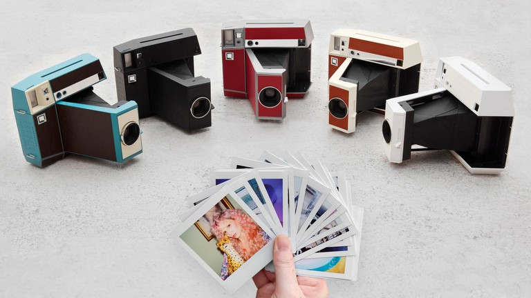The Lomo'Instant Square camera