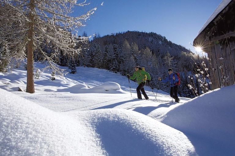 Snowshoeing in Austria