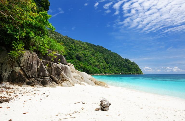 Beautiful beach at Perhentian Islands
