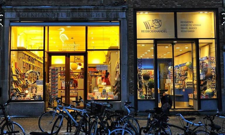 Two De Reyghere shops on the Markt square | courtesy of De Reyghere