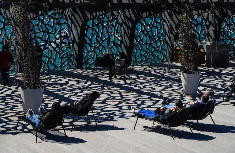 The very cool MUCEM building in Marseille