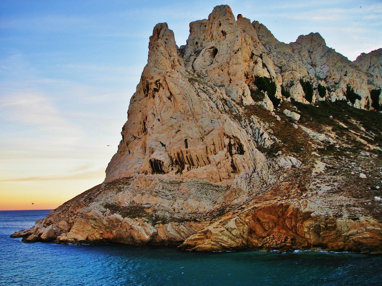 Marseille boasts one of France's spectacular natural wonder, the Calanques