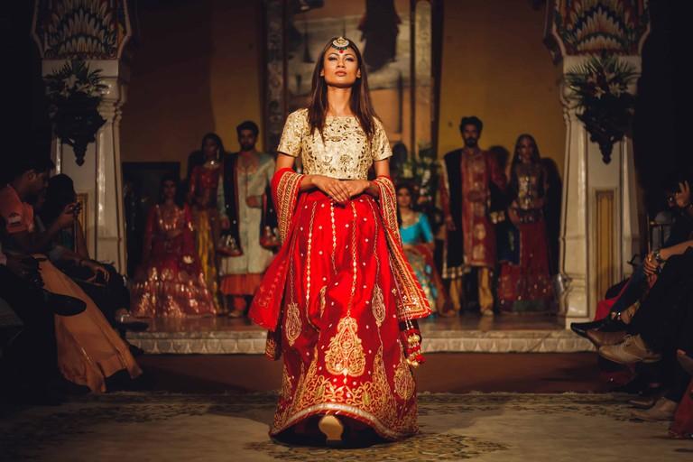 Get a Rajasthani royal look