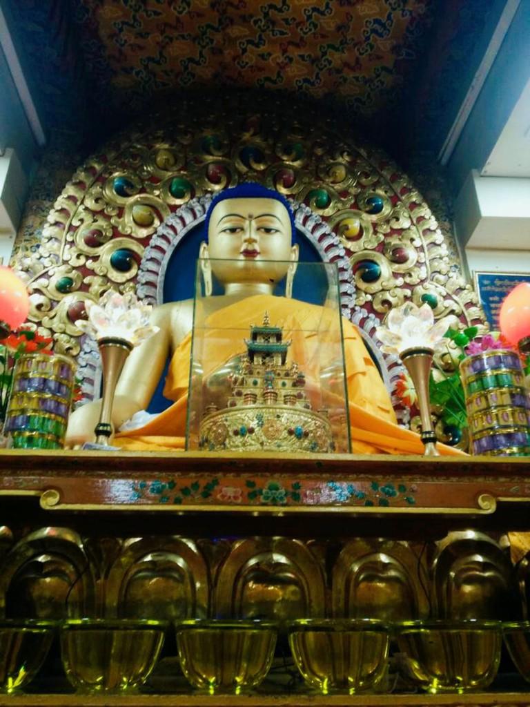 Lord Buddha Statue at Monastery