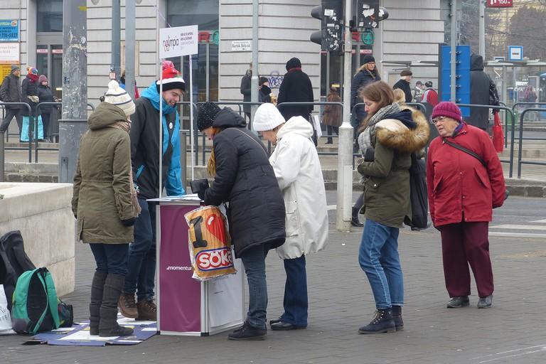 Nolimpia campaign in Budapest