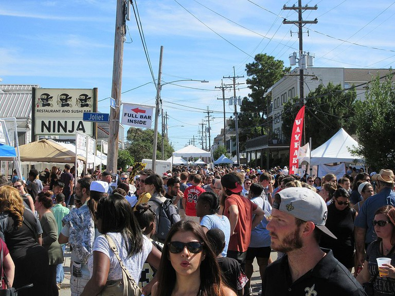 Oak Street Po-Boy Fest, New Orleans | © Infrogmation of New Orleans/Wikimedia Commons