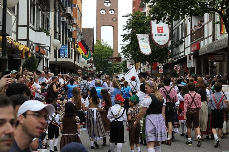 Oktoberfest in Blumenau |©Vitor Pamplona/WikiCommons