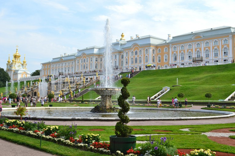 Peterhof Cascade