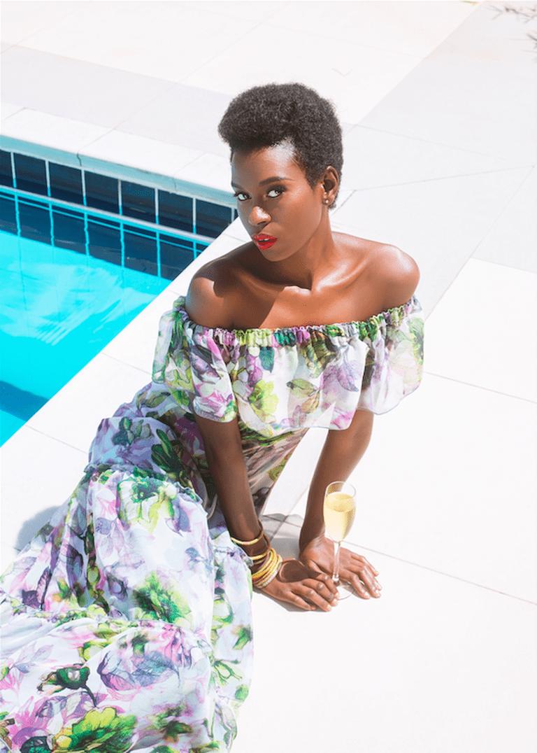 CollectiveRw Fashion Week Editorial Model: Rachel Neza Designer: Sonia Mugabo