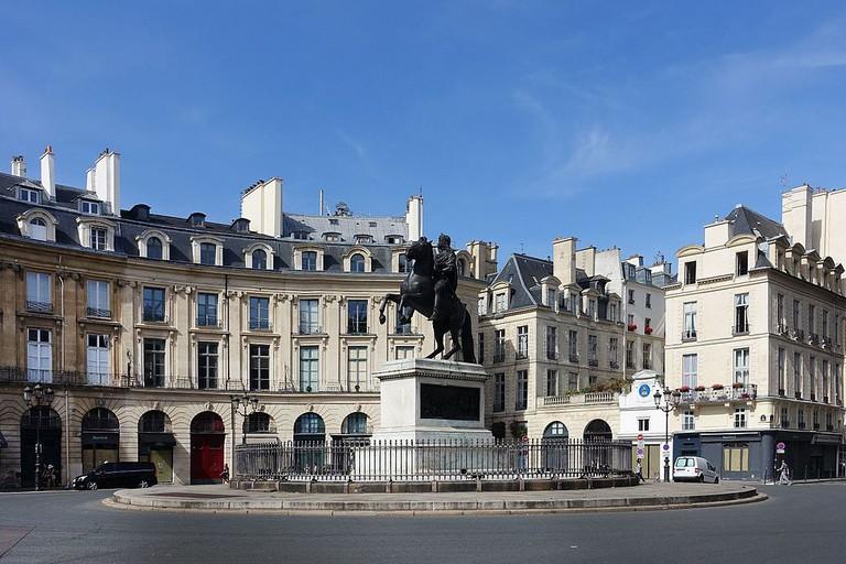 Place des Victoires │© Guilhem Vellut / Wikimedia Commons