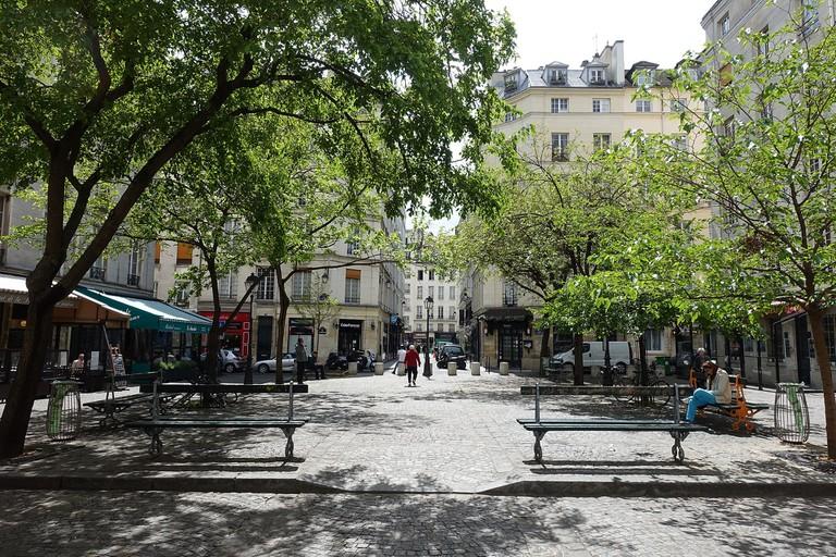 Place du Marché Sainte-Catherine │© Guilhem Vellut / Wikimedia Commons
