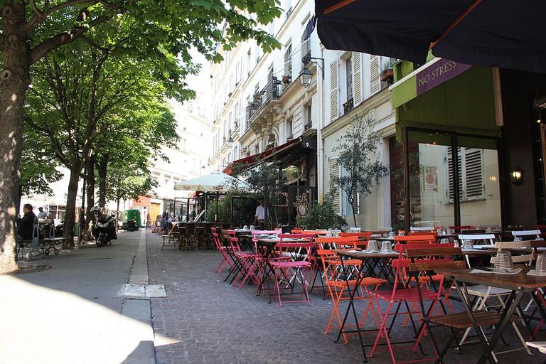 Place Gustave Toudouze │© ParisSharing / Wikimedia Commons