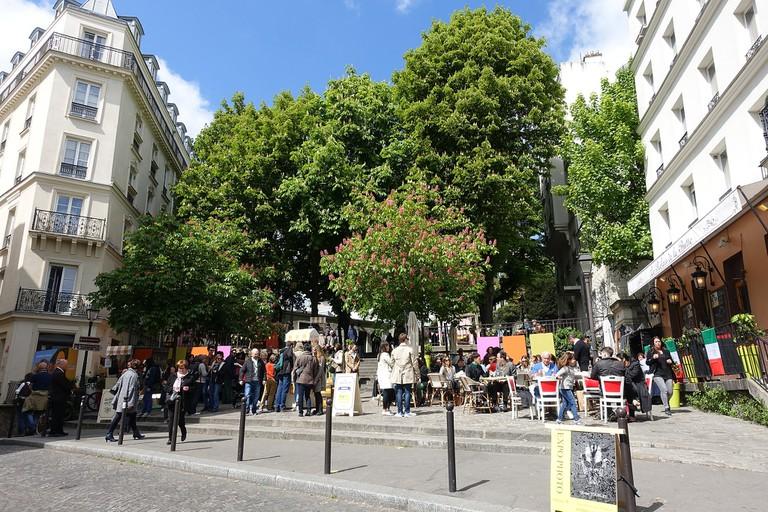 Place Émile Goudeau │© Guilhem Vellut / Wikimedia Commons