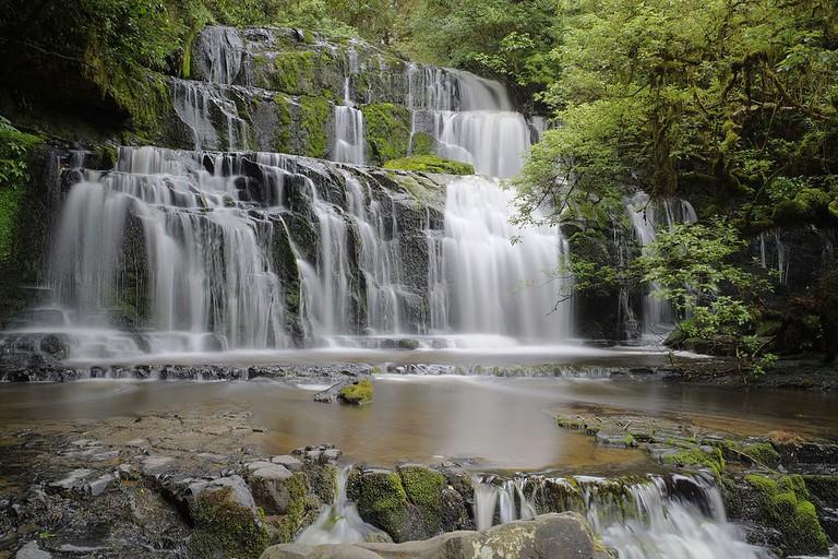 Purakanui Falls, New Zealand