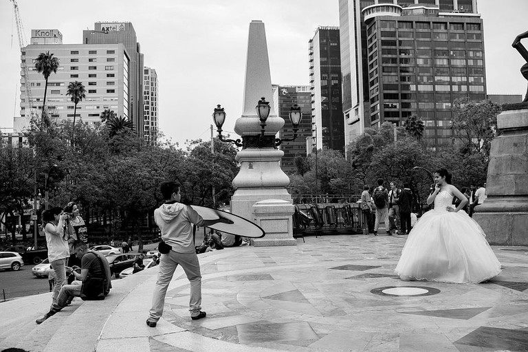 Quinceañera photoshoot at the Angel